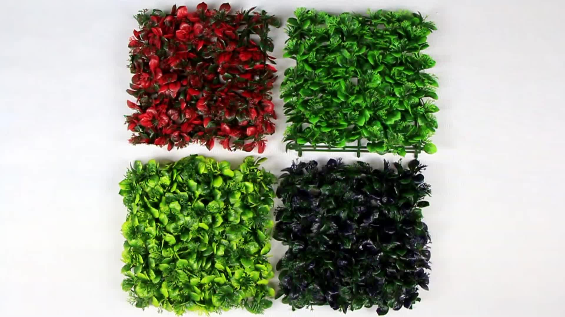uv protection outdoor artificial plants hedges for screen covering
