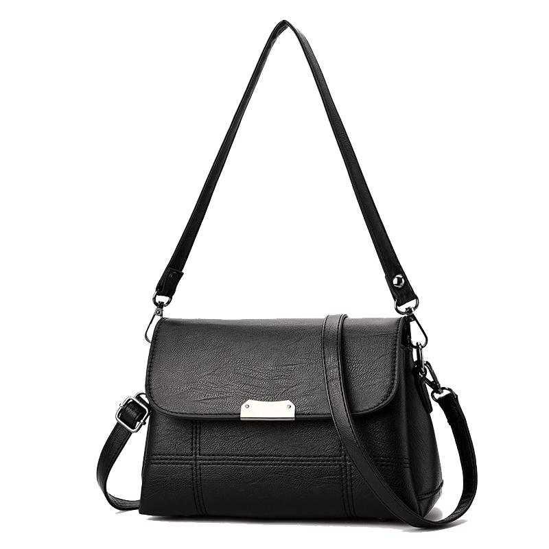中年女包妈妈包包女新款2020时尚单肩包大容量百搭简约斜挎包小包