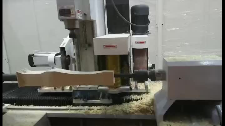 Chinese First Curved Wood European Furniture Making Cnc