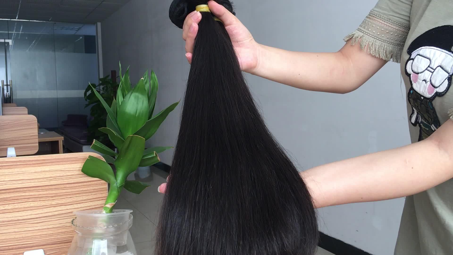Aliexpress en çok satan ürünler insan saçı örgüsü bakire manikür hizalanmış saç parçaları