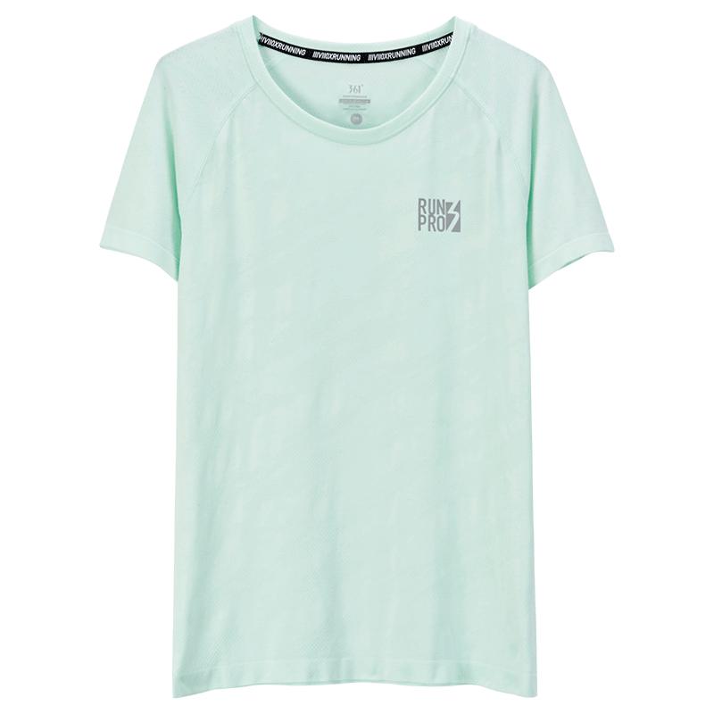 361运动t恤女士春夏薄款透气修身品牌短袖体恤衫跑步健身半袖上衣