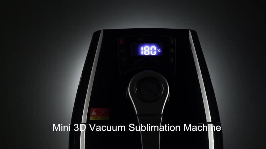 2017 New mini 3d sublimation vacuum heat press machine mobile case mug printing machine for sale