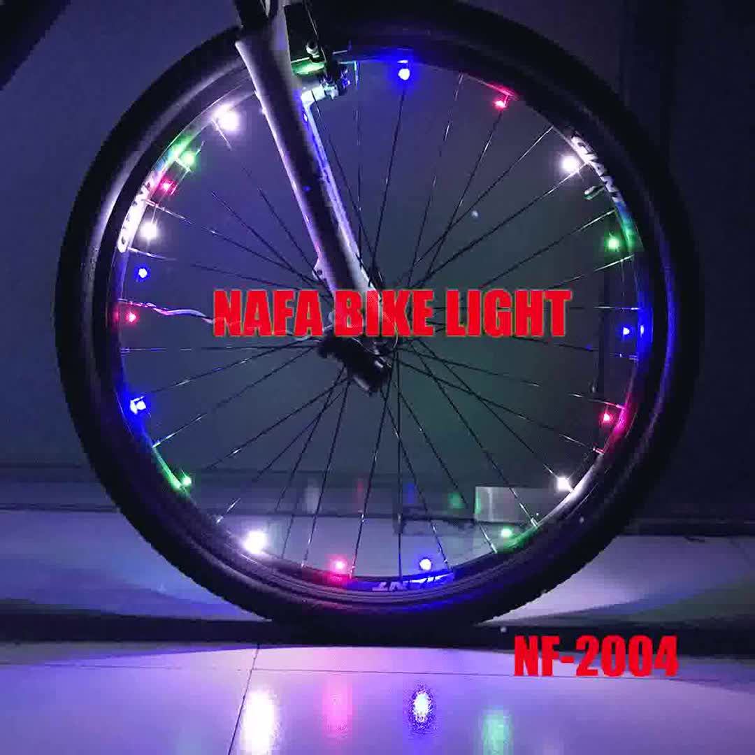 LED Bicycle Wheel Strip light with tube, Bike Accessories Glowing Tyre Light, Motorcycle Flash Wheel Lamp
