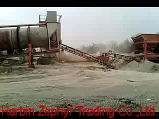 Easy Moving Mobile Type Hot Mix Asphalt Batching Plant 20 t/h on Stock