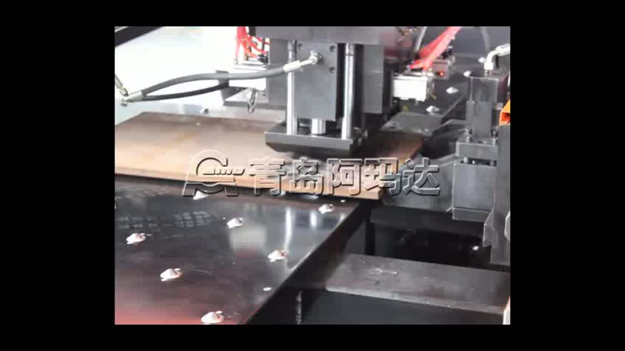 AMD-P Hydraulic CNC Turret Punching machine