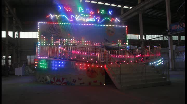 Disco Tagada for amusement rides