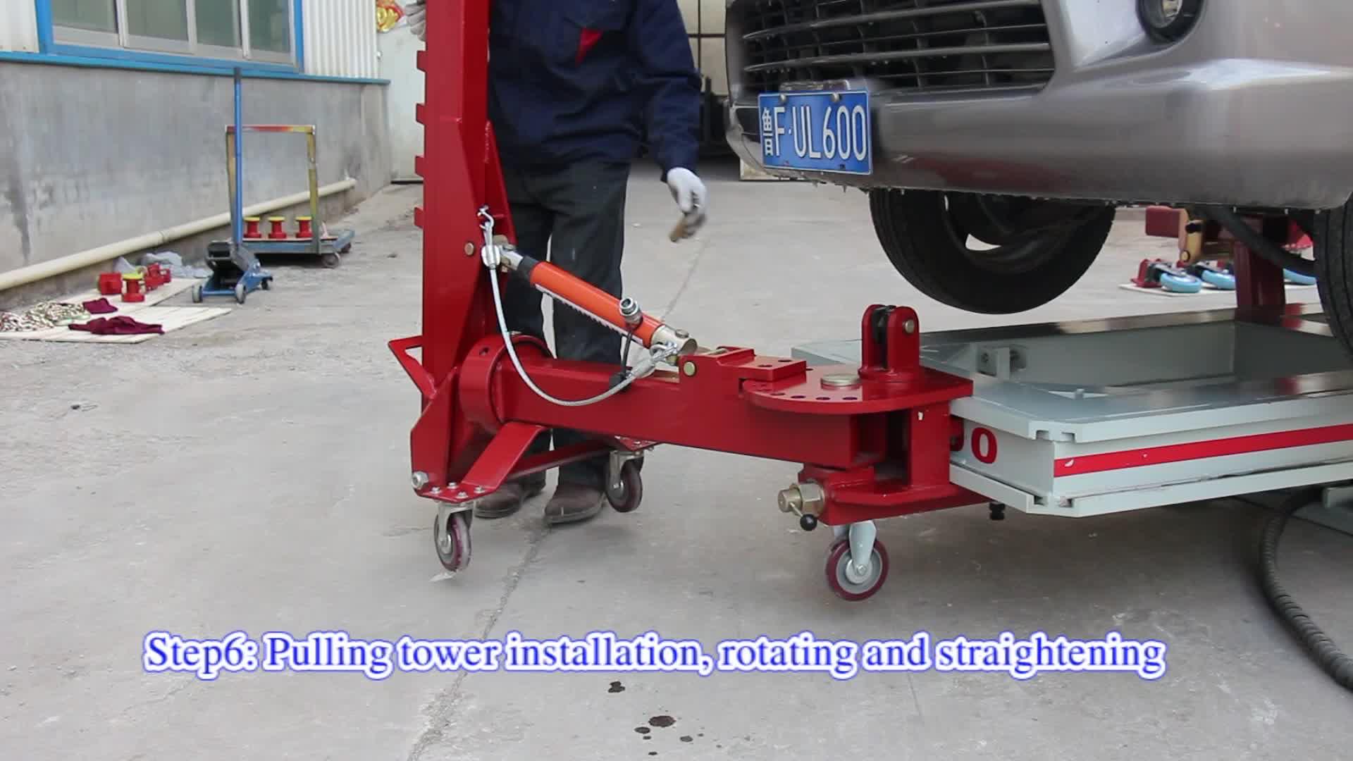 ตัวถังรถยนต์ชนกรอบเครื่อง / ดึงบุ๋มสำหรับการประชุมเชิงปฏิบัติการรถยนต์ / home Garage UL-600