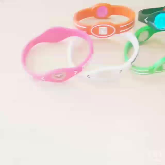eco-friendly durable rubber band custom bracelet silicon wristband baller ID band