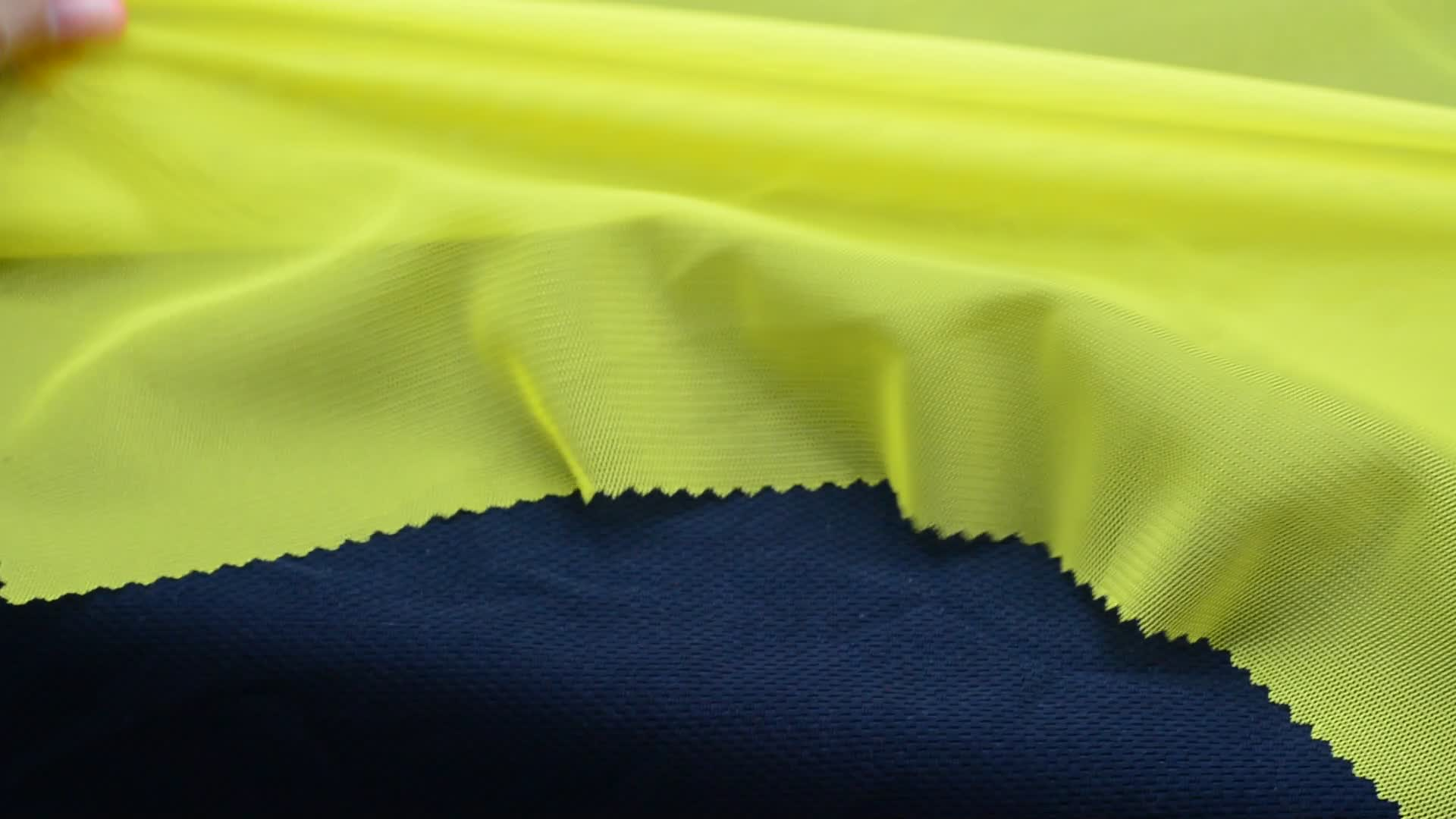High quality 100% polyester jersey fabric for waterpoof sportswear lining fabric wholesale