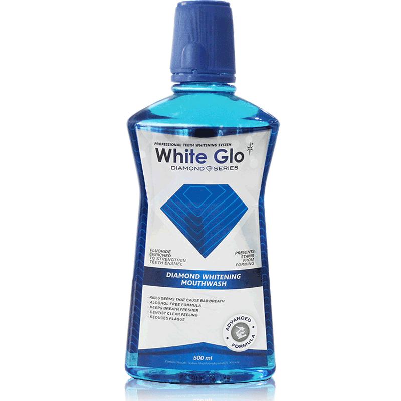 澳洲WhiteGlo/惠宝漱口水无酒精清新口气除口臭减少牙菌斑500ml