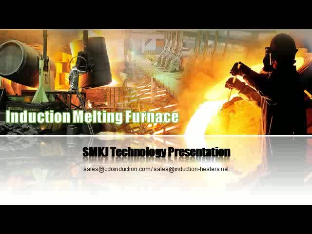 Iron/Aluminum Stainless Steel Melting/Smelting Furnace with Complete Solution