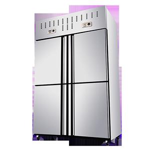 格盾四门商用冷藏冷冻立式保鲜柜