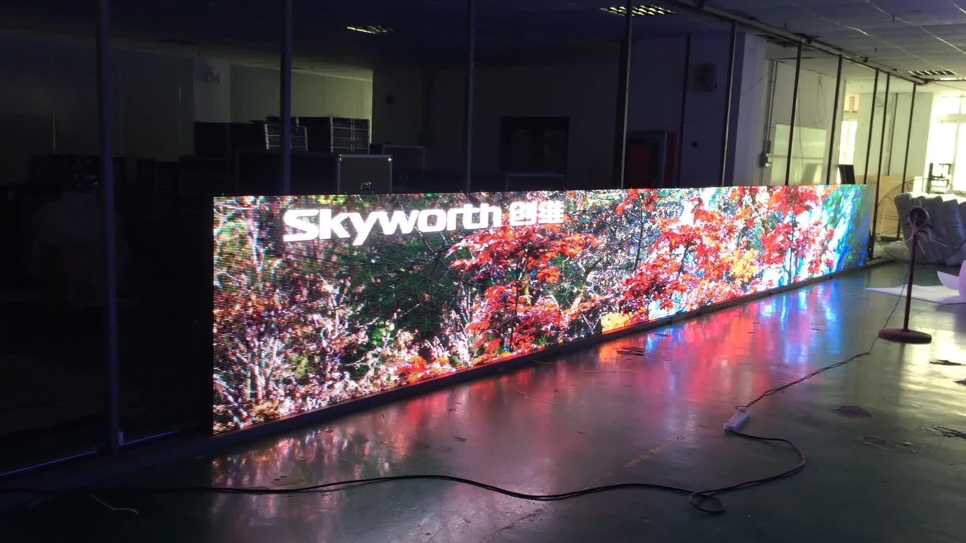 IP65 big outdoor led advertising screen price