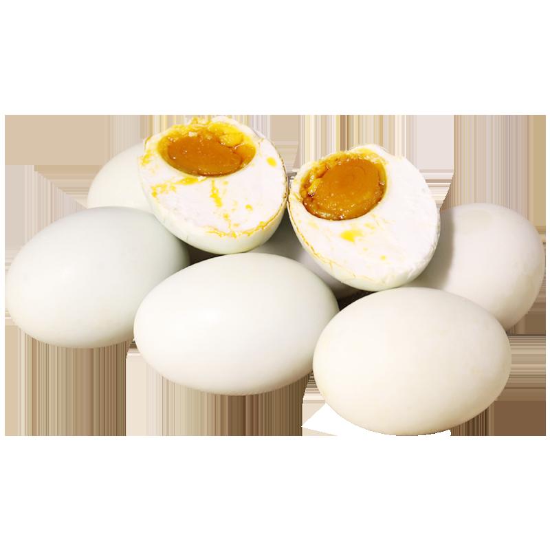 铭邮咸鸭蛋80g8枚蛋黄流油特产正宗高邮盐咸蛋新鲜流油红心真空