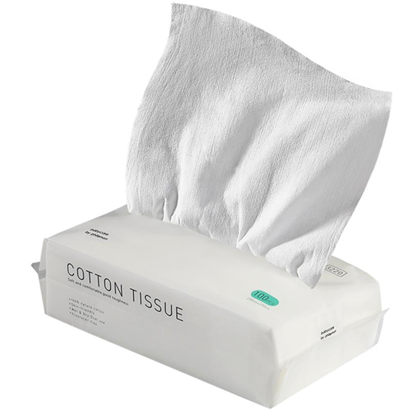 babycare婴儿棉柔巾新生宝宝干湿两用手口专用非湿巾纯棉加厚6包