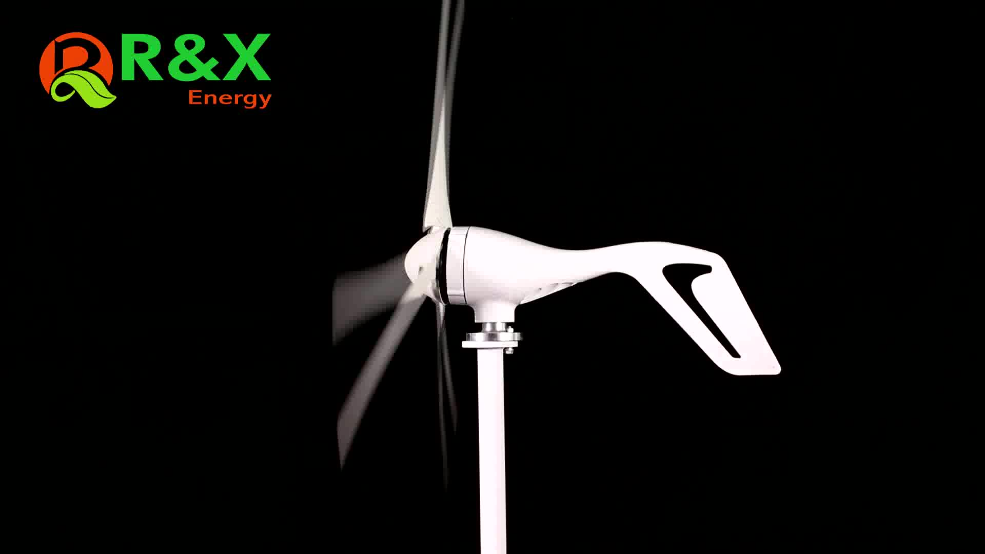 Wind Turbine 600w max with Powerful Output 12V 24V optional with CE