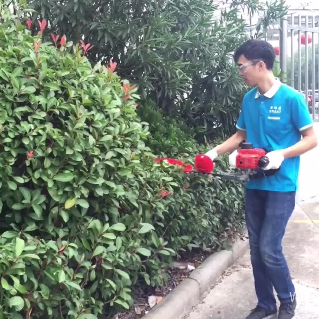 22.5cc HT7510 Single Blade Petrol Brush Cutter Hedge Trimmer Reciprocation Garden Tools