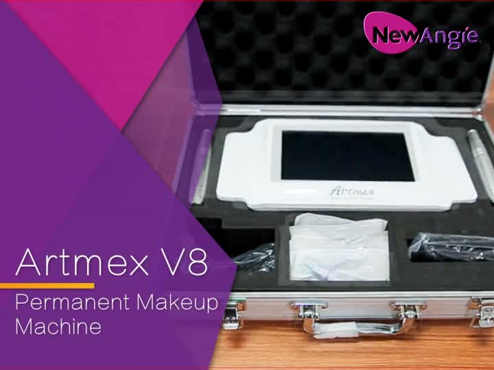 Artmex V8 digitale permanent make-up maschine kosmetische tattoo stift