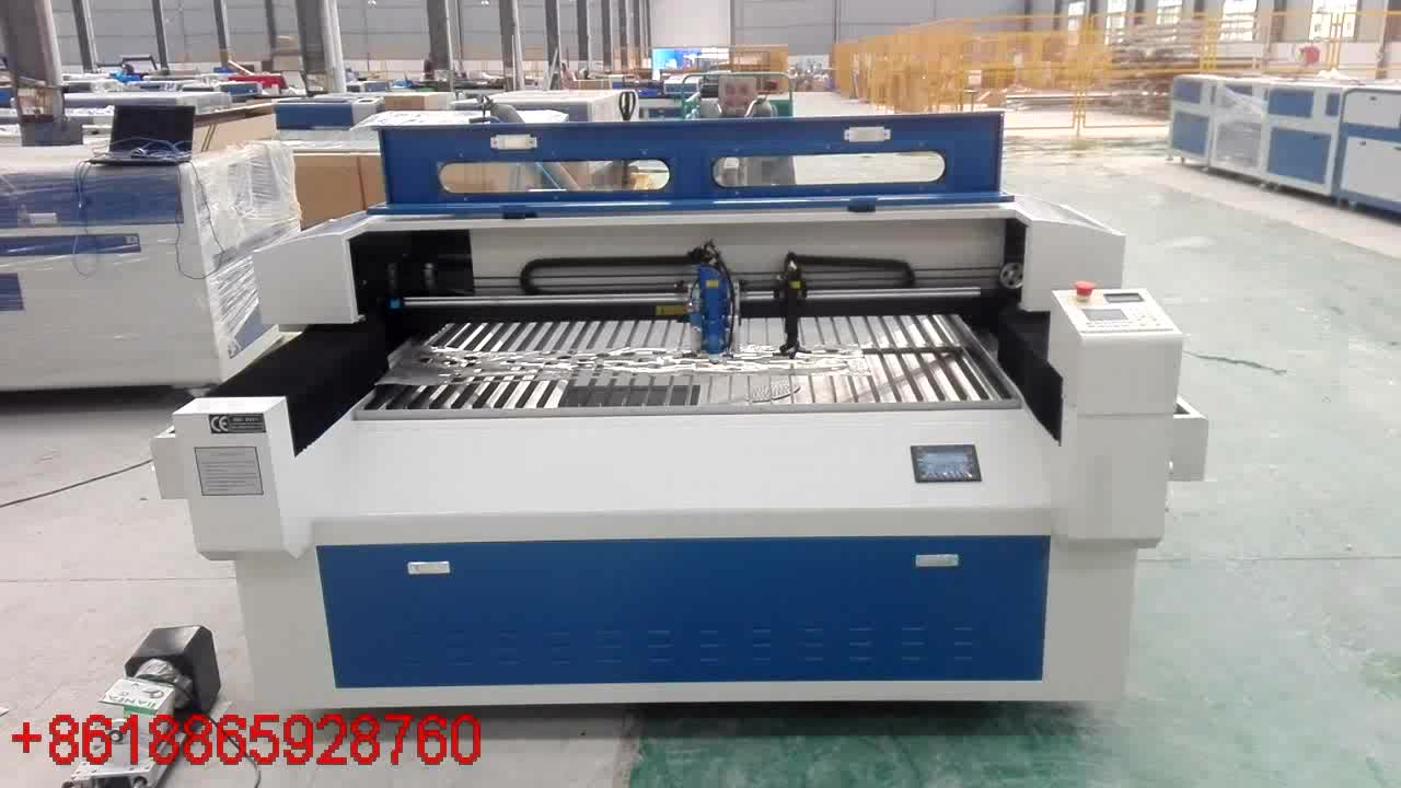 double heads laser cutting machine hybrid cut laser machine 1325 1530 2030 2040 for metal and nonmetal
