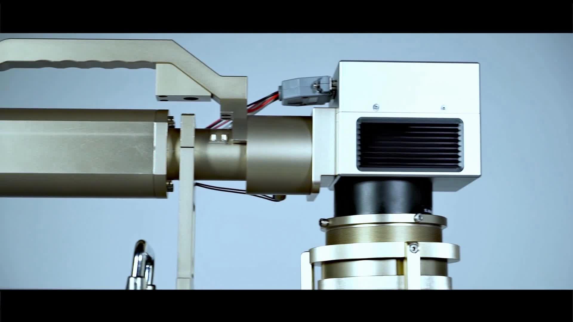 Fibra macchina per marcatura laser di colore mopa laser a fibra 50 w