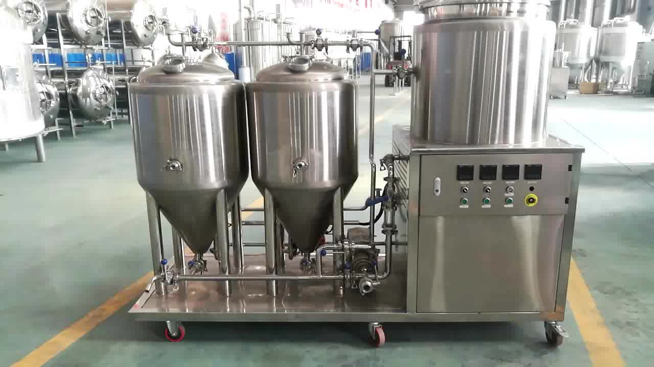 Flexible home draft beer making machine for DIY brewing
