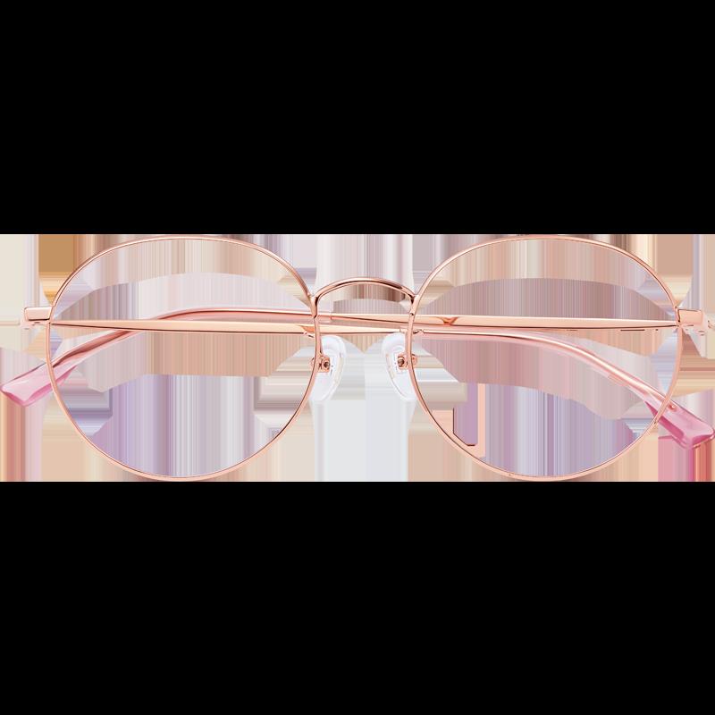 眼镜框纯钛超轻近视眼镜可配有度数素颜眼镜框女大脸显瘦百搭方脸