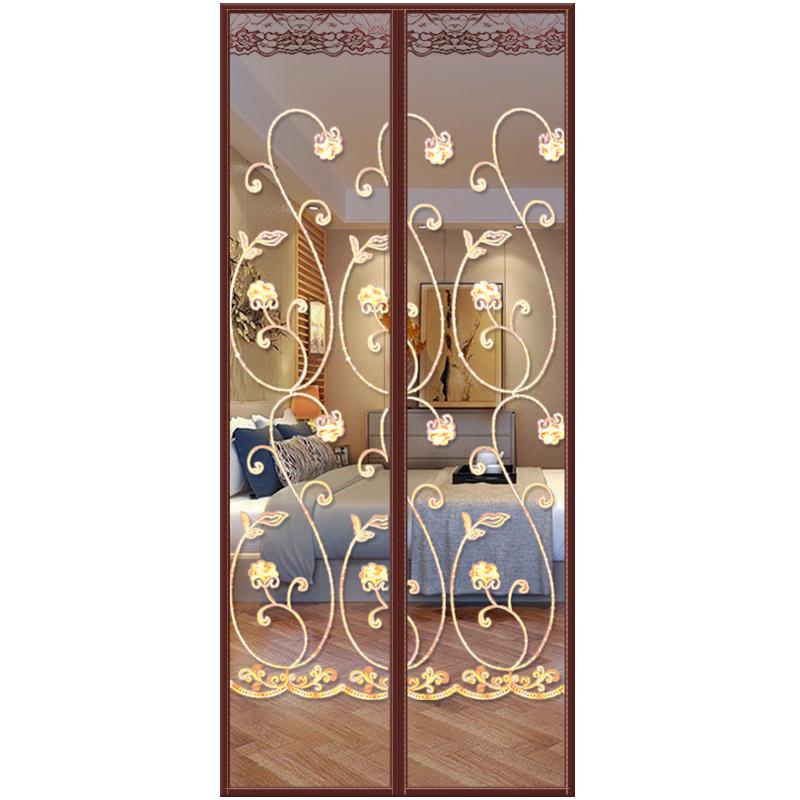 魔术贴防蚊门帘高档磁性纱门家用卧室纱窗防蝇静音夏季自吸免打孔