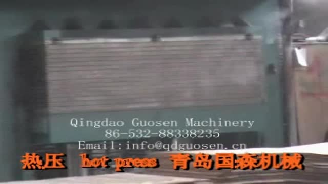 2018 machinery for plywood making machine ,hot press cold press