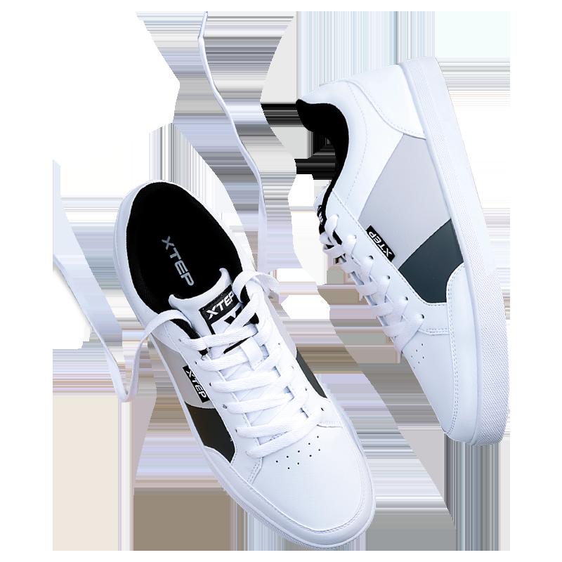 特步2020夏秋季新款休闲男鞋板鞋