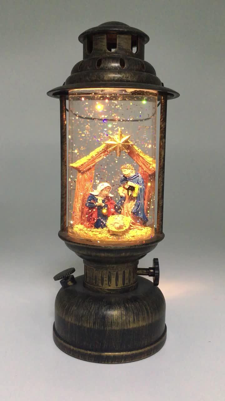 new design christmas decorative handheld lantern led. Black Bedroom Furniture Sets. Home Design Ideas