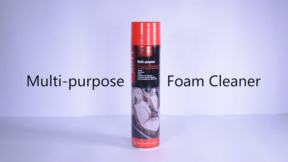650ml multipurpose car care Interior  cleaning private label almighty spray foam cleaner