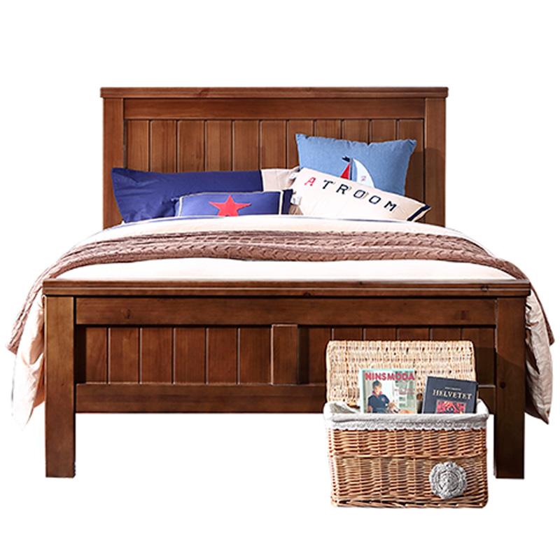 优梵艺术uvanteen美式儿童房实木床评价如何