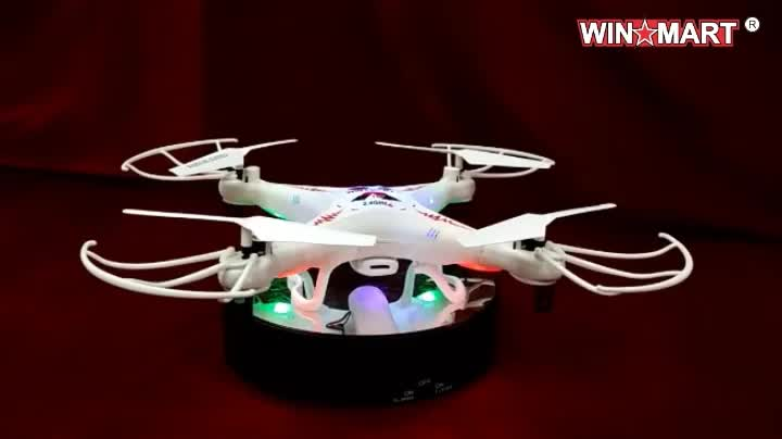 WM-F4D187C 2.4G rc quadcopter with 2.0mp camera awesome camera drone for beginner