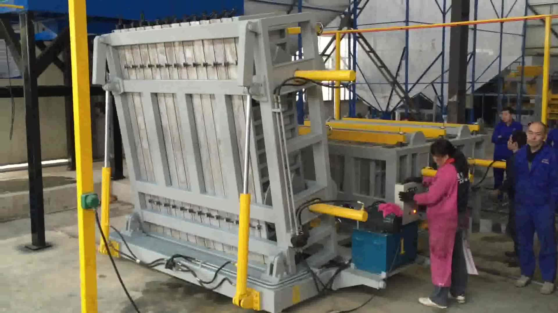 Fiber cement board partition eps wall panel machine production line