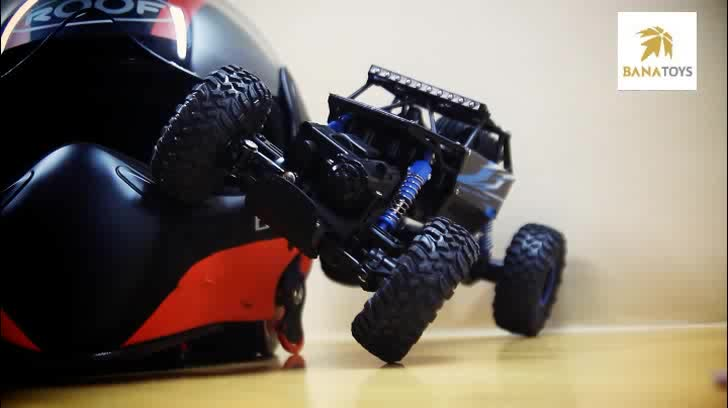 Newest toy 1:18 2.4G 4x4 rock crawler remote control rc car for sale