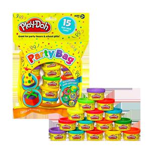 孩之宝多彩派对15色装培乐多彩泥