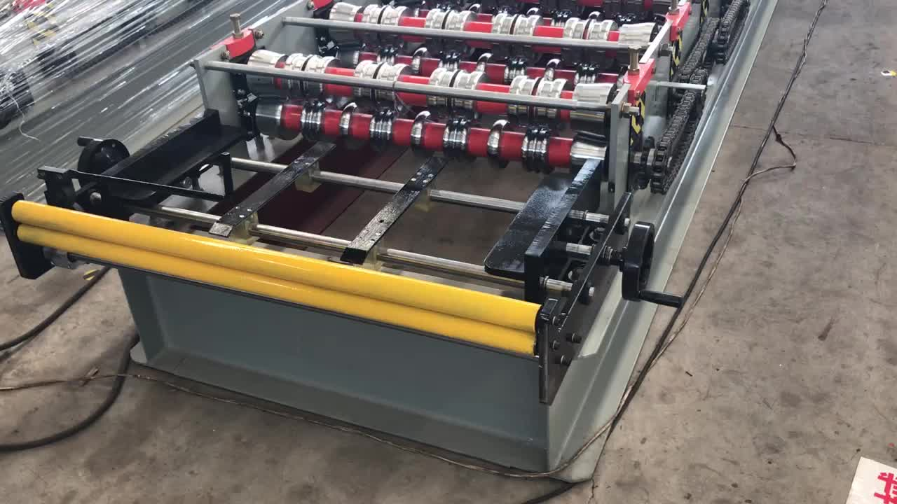 High Quality Wall And Roof Sheet Tile Making Machinery Price