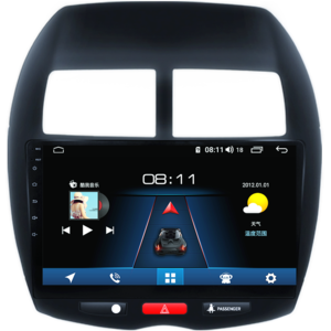 三菱新老智能车安卓中控大屏导航仪