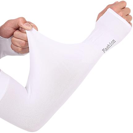 夏季冰爽防紫外线薄长款冰丝手套