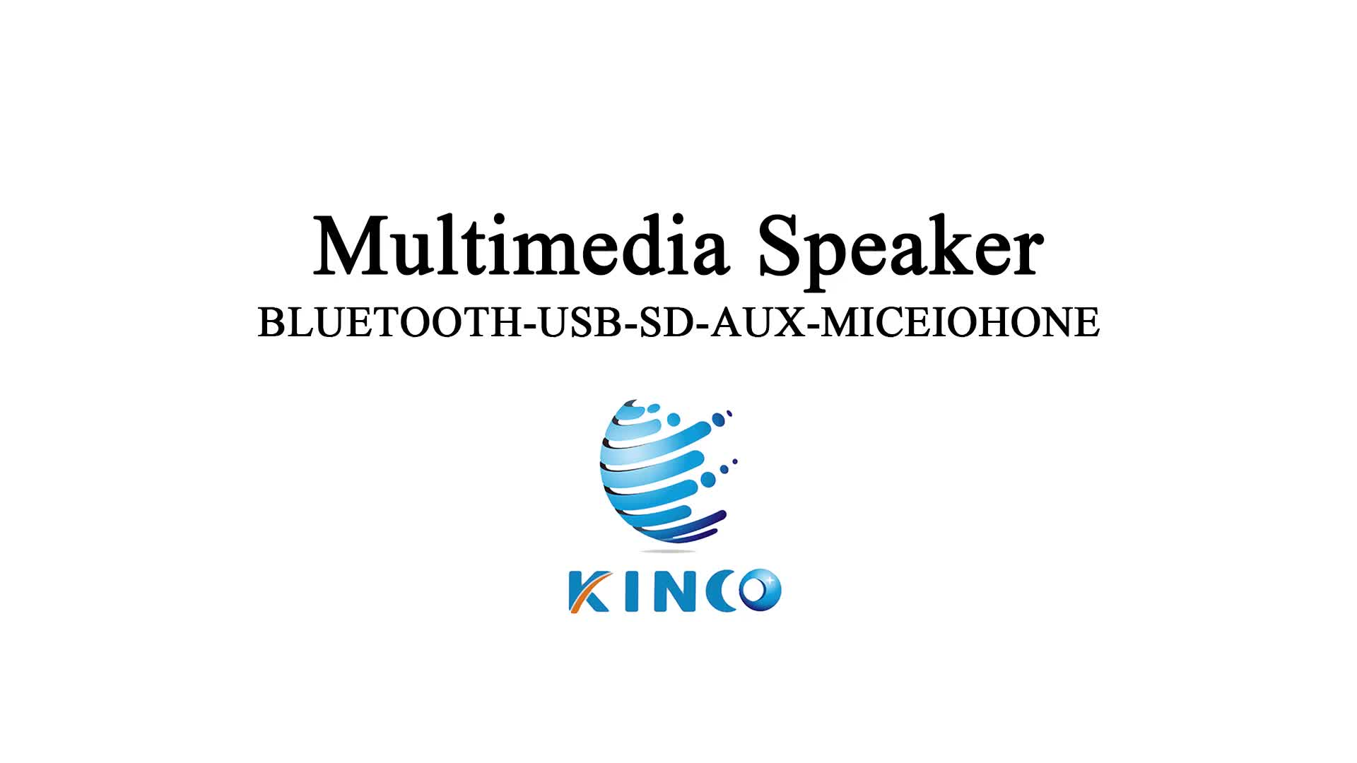 3 Inch draadloze draagbare usb mini speaker
