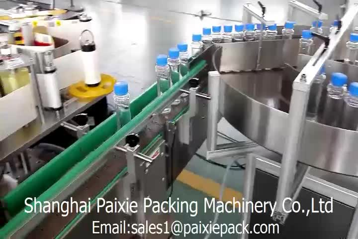 PLC controlled  bottle filling machine wet glue labeling machine for jam/paste/honey bottles in factory price