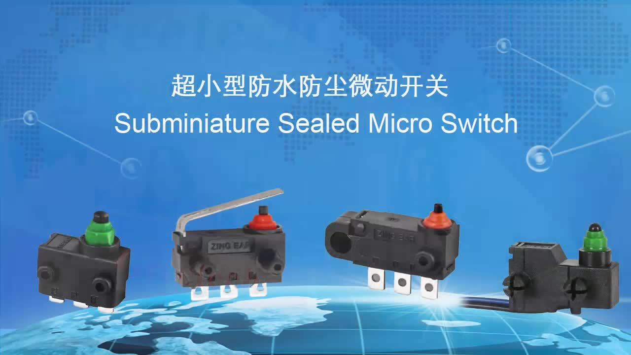China Supplier 0.1A 125/250VAC SPDT Mini Micro Switch for Electric Car Window Application