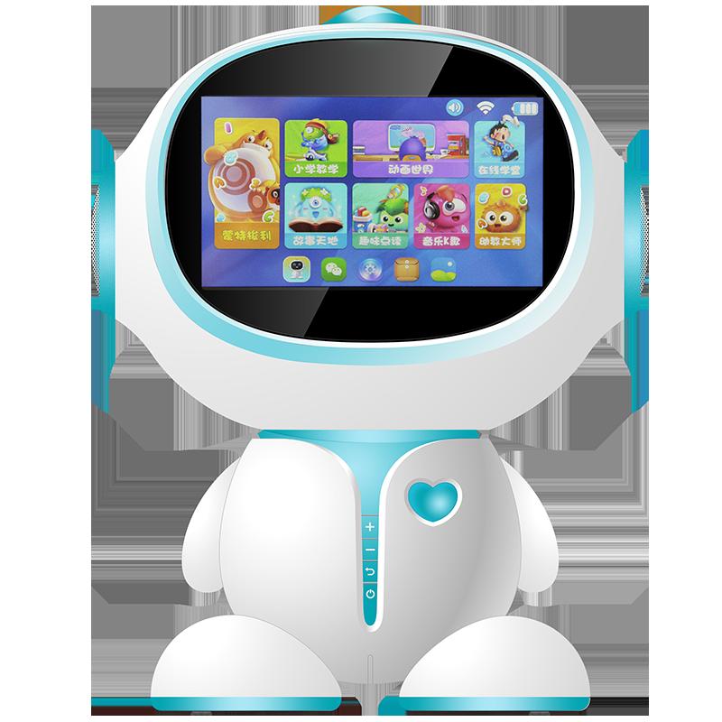 启迪人工智能机器人A6高科技家庭语音对话儿童早教机玩具学习机聊天教育陪伴机器人故事遥控行走跳舞男孩子女