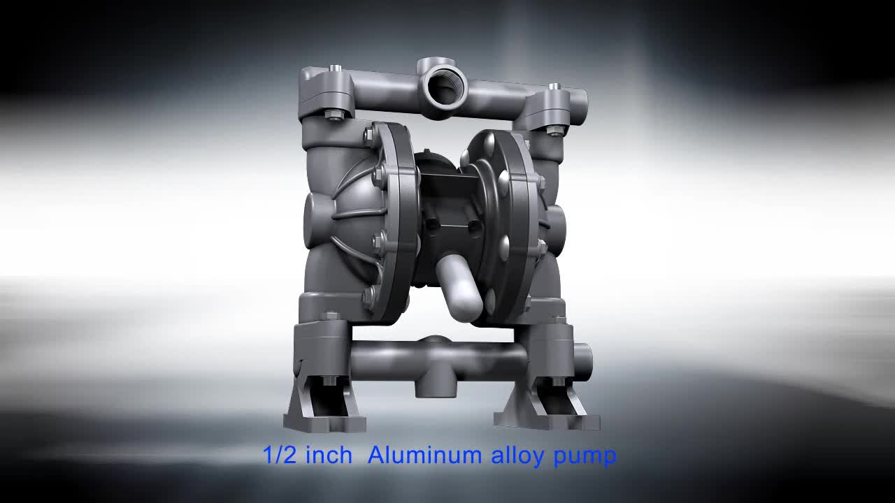 Stainless Steel  Pneumatic Diaphragm Pump  For Water Treatment