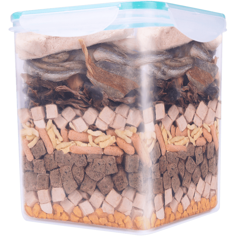 猫狗零食混合冻干桶500g
