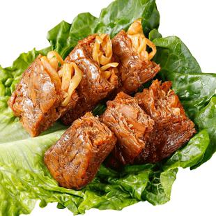 松鼠糖糖烤肉豆脯网红多味夹笋笋丝