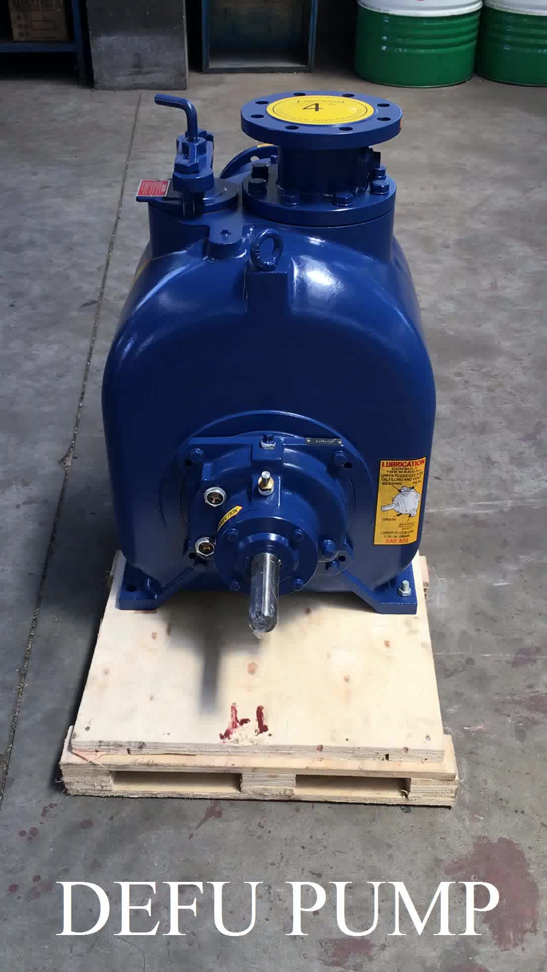 6 inch 300 m3/h high suction lift centrifugal water pump for trash station