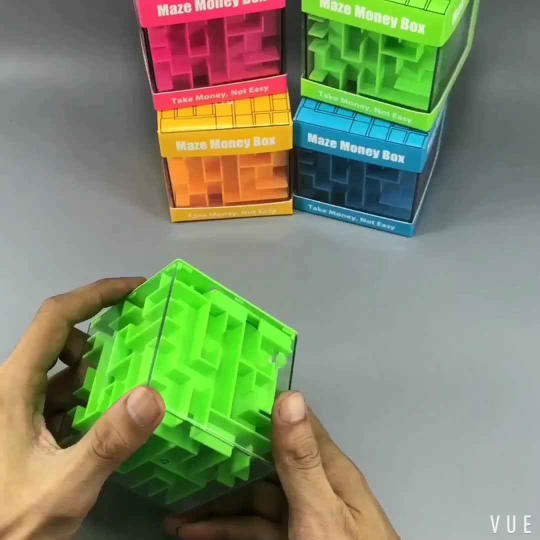 टीटी खिलौने बच्चों के शैक्षिक खिलौने बच्चों के लिए भूलभुलैया पैसा बॉक्स