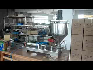 automatic injection pump filling machine for honey processing equipment