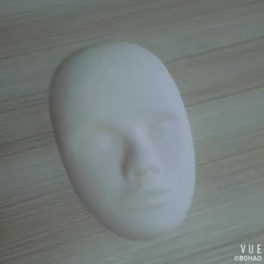 Custom 3d Rubber Permanent Makeup Practice Model Head Mask Real Skin Feel Uninstall With Open Eyes